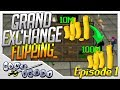 10M To 100M Grand Exchange Flipping - Ep. 1 (OSRS GE Flipping Series)