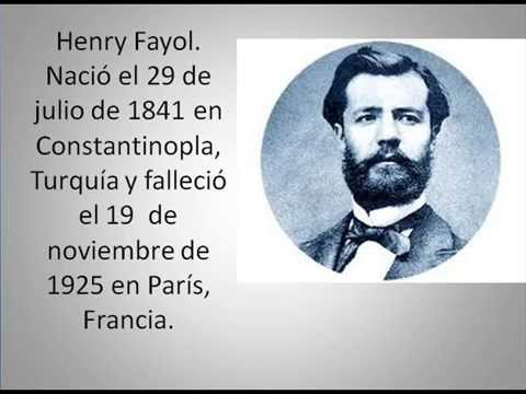henri fayol Henri fayol was a french mining engineer, mining executive, author and director of mines who developed a general theory of business administration he gave 1.