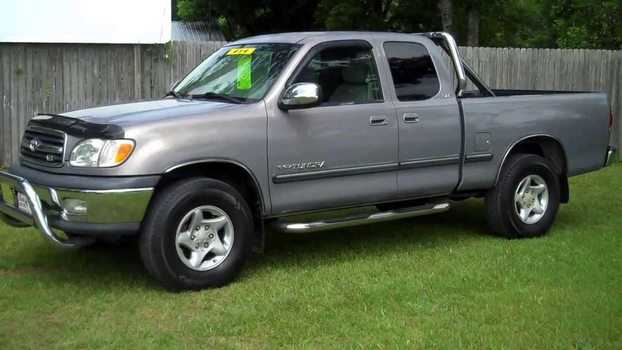 2000 toyota tundra sr5 4x4 for sale leisure used cars 850. Black Bedroom Furniture Sets. Home Design Ideas