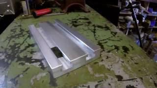 Making a sacrificial aluminum T Slot table on a Tormach PCNC 1100