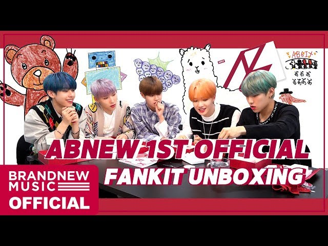 ABNEW 1ST OFFICIAL FANKIT UNBOXING