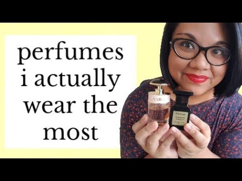 MY GO-TO PERFUMES I ACTUALLY WEAR THE MOST | So Far In 2020 Anyway...
