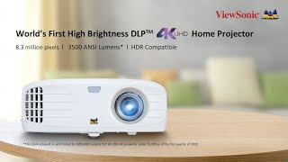 4K Ultra HD Projector ViewSonic PX747-4K - Upgrade Your Home Theater