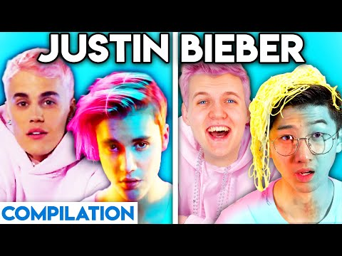 JUSTIN BIEBER WITH ZERO BUDGET! (YUMMY, WHAT DO YOU MEAN, BABY, \u0026 MORE BEST OF LANKYBOX COMPILATION) indir
