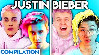 JUSTIN BIEBER WITH ZERO BUDGET! (YUMMY, WHAT DO YOU MEAN, BABY, & MORE BEST OF LANKYBOX COMPILATION)