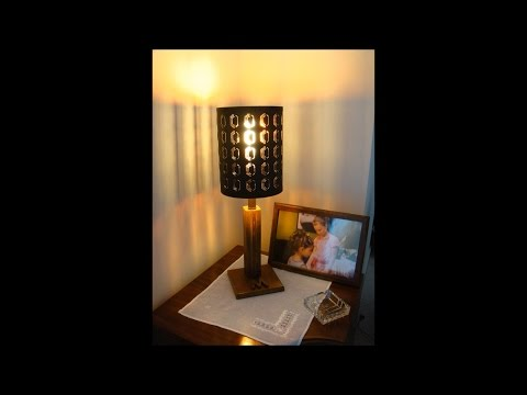 DIY table lamp remake how to Simply Make It