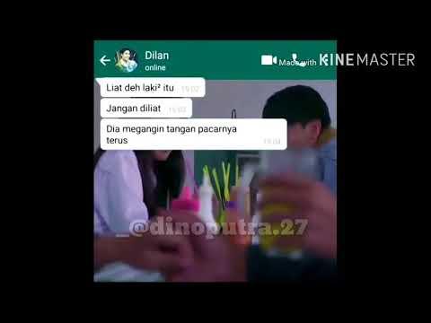 """Video Status WA Kata"" Dilan 1990"""