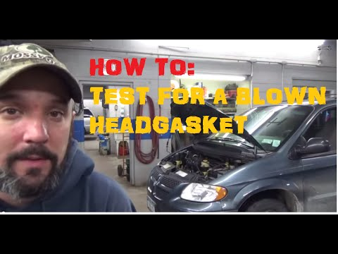 Test For A Blown Head Gasket