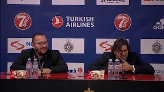 Trener Partizana Andrea Trinkijeri: Praktično su nas 'ubili' na početku...   SPORT KLUB Košarka