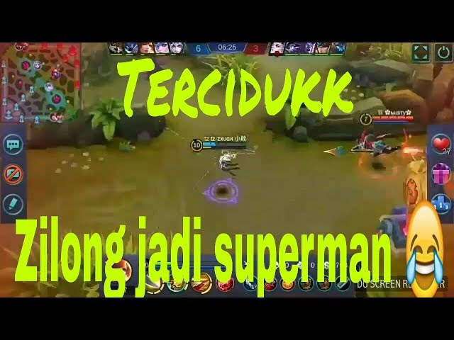 Mobile legends-tz.zxuan kembali membuat zilong jadi superman