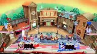 Super Smash Bros for Wii U: Town and City 'The Force' Glitch