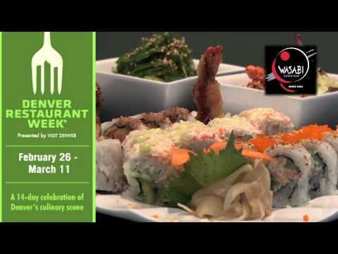 Wasabi Sushi Bar (Lakewood, CO) & Denver Restaurant Week