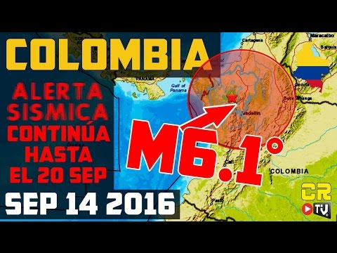 TERREMOTO M6.1° EN COLOMBIA | ANALISIS  (SEP142016)