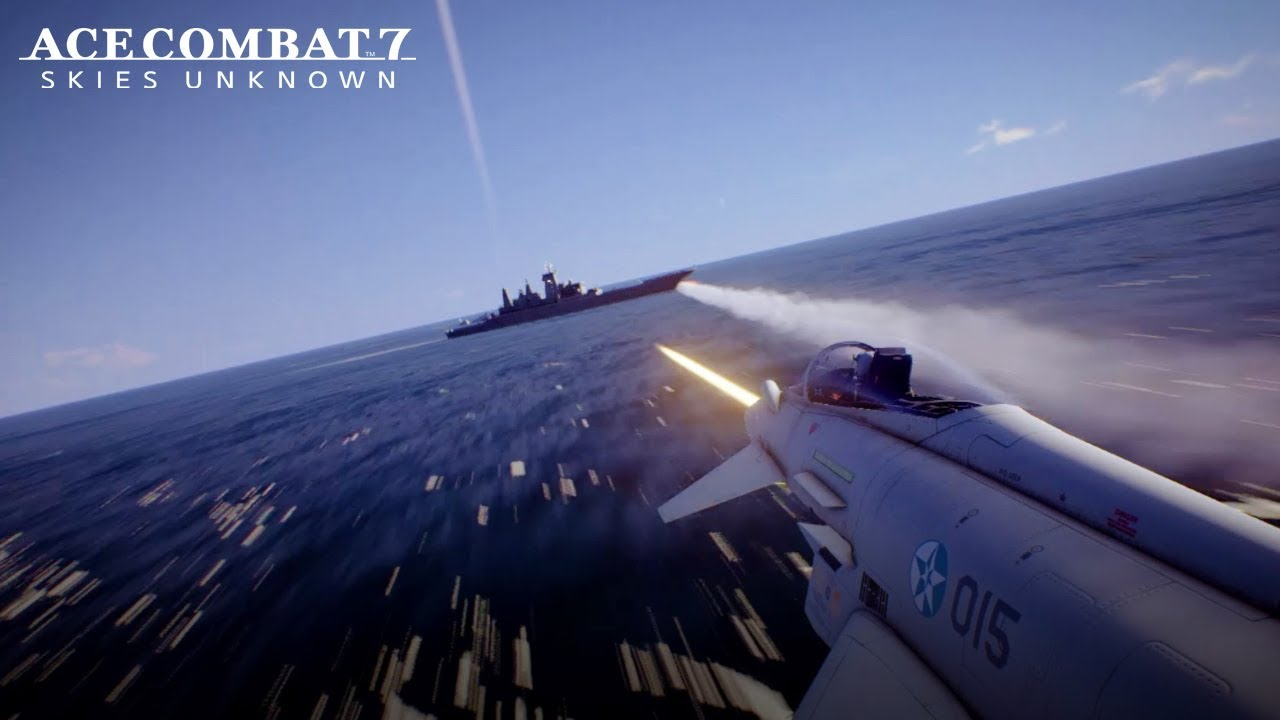 newest e2f89 6ad26 Ace Combat 7  Skies Unknown - PS4 XB1 PC - UK PlayStation Trailer