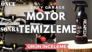 Newmix Motor Yağ Temizleyici Spreyi Test Ettim | Ürün İnceleme | GREY GARAGE