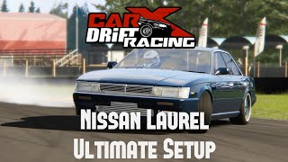 CarX Drift Racing Nissan Laurel (Pirate) Ultimate Setup test drive
