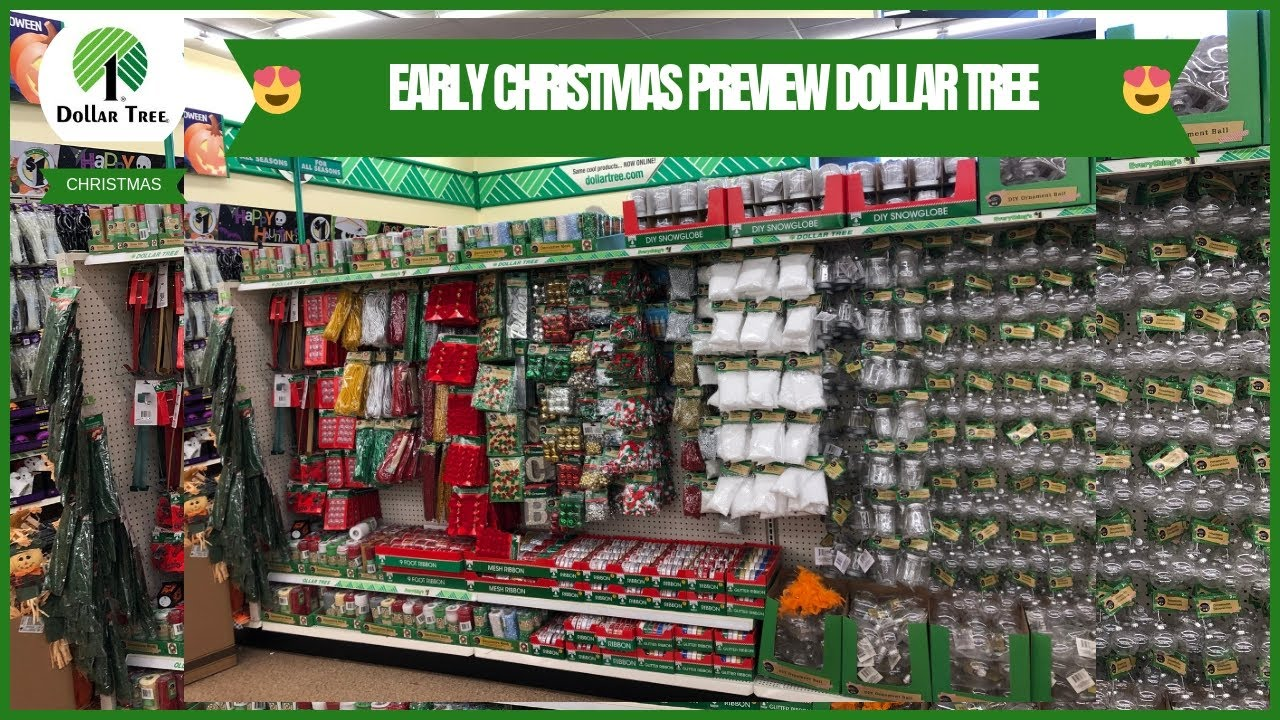 CHRISTMAS 🎄 HAS HIT DOLLAR TREE 🌳 COME WITH ME TO DOLLAR TREE EARLY  CHRISTMAS 🎄 PREVIEW 😍