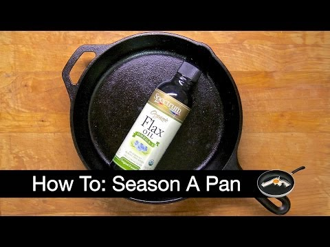 How To: Season a Cast Iron Pan