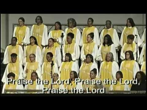 """Let Everything That Hath Breath (Psalm 150)"" Combined Choir w/ Lyrics"