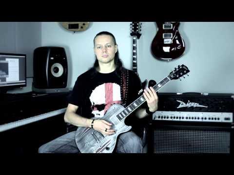 Metal Guitar Lessons: Alternate picking -- Ex. 3/27