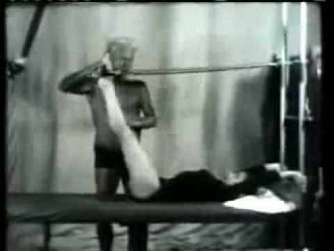 Joseph Pilates & Eve Gentry