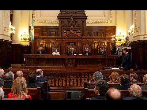 Jura de Consejeros de la Magistratura