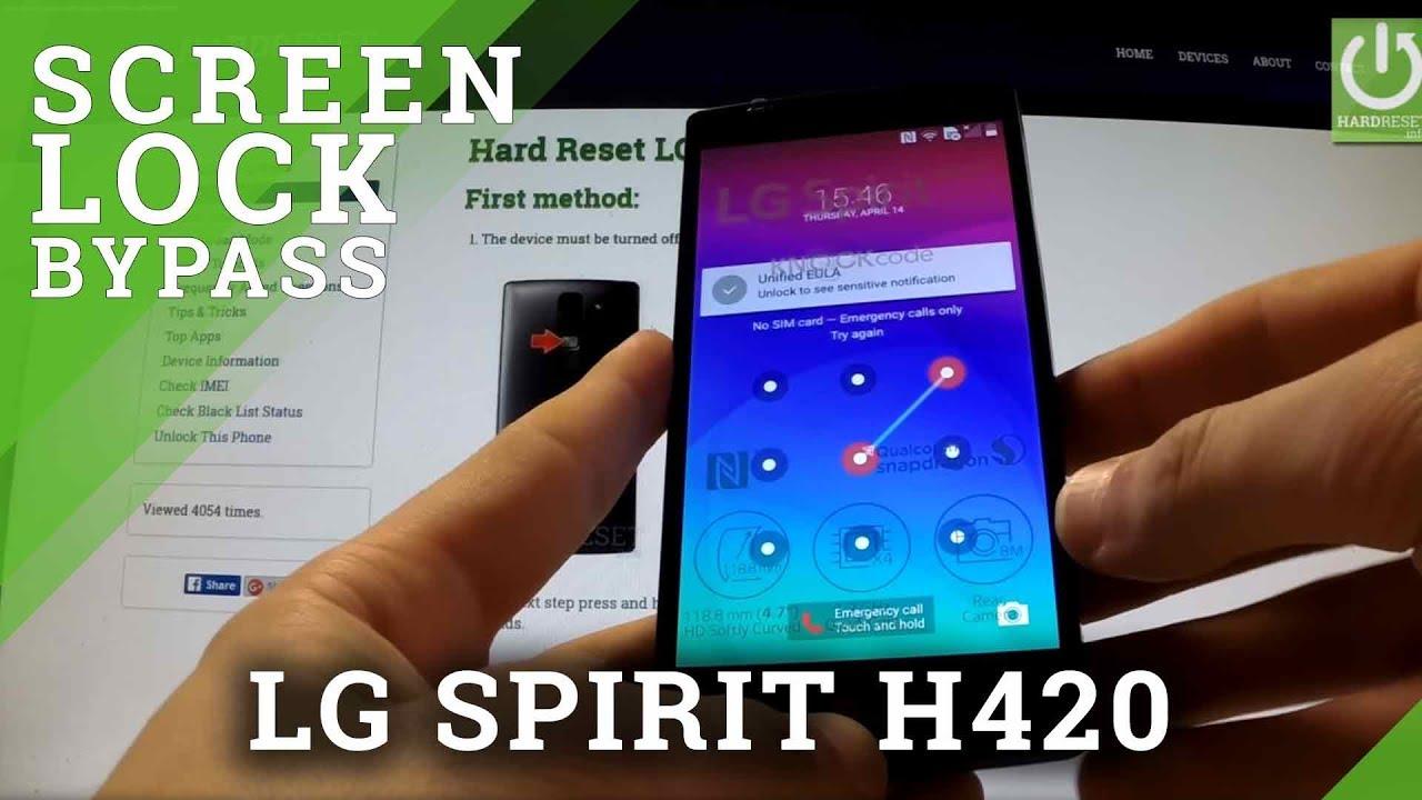 Hard Reset LG Spirit 4G LTE H440N - HardReset info