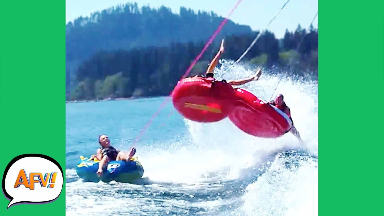 Reasons To NEVER Go TUBING! 😂 | Best Water Fails | AFV 20