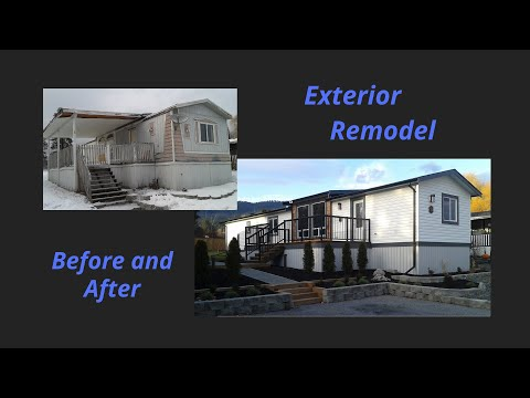 Complete Mobile Home Exterior Renovation - Before And After : E041 / BC Renovation Magazine