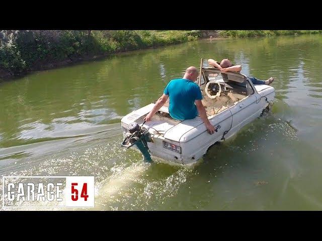 Лодка из машины своими руками