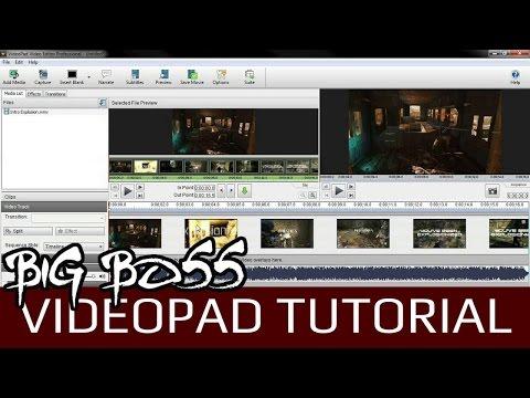 Videopad Video Editor V2.41 Tutorial | Export/Render a Video in HD
