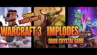 Naughty Clicker News | Warcraft 3 Death by Corporate Greed, PS4 Dreams Reinvents Gaming & More