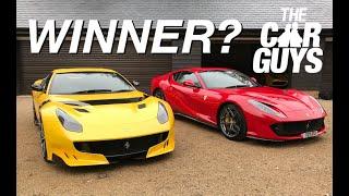 Ferrari 812 Versus F12 Tdf - Which Is Better?