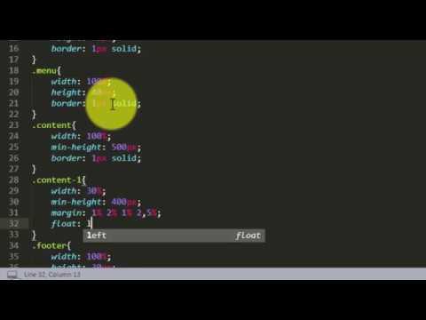 Tutorial Membuat Toko Online Dengan HTML & CSS Part 1