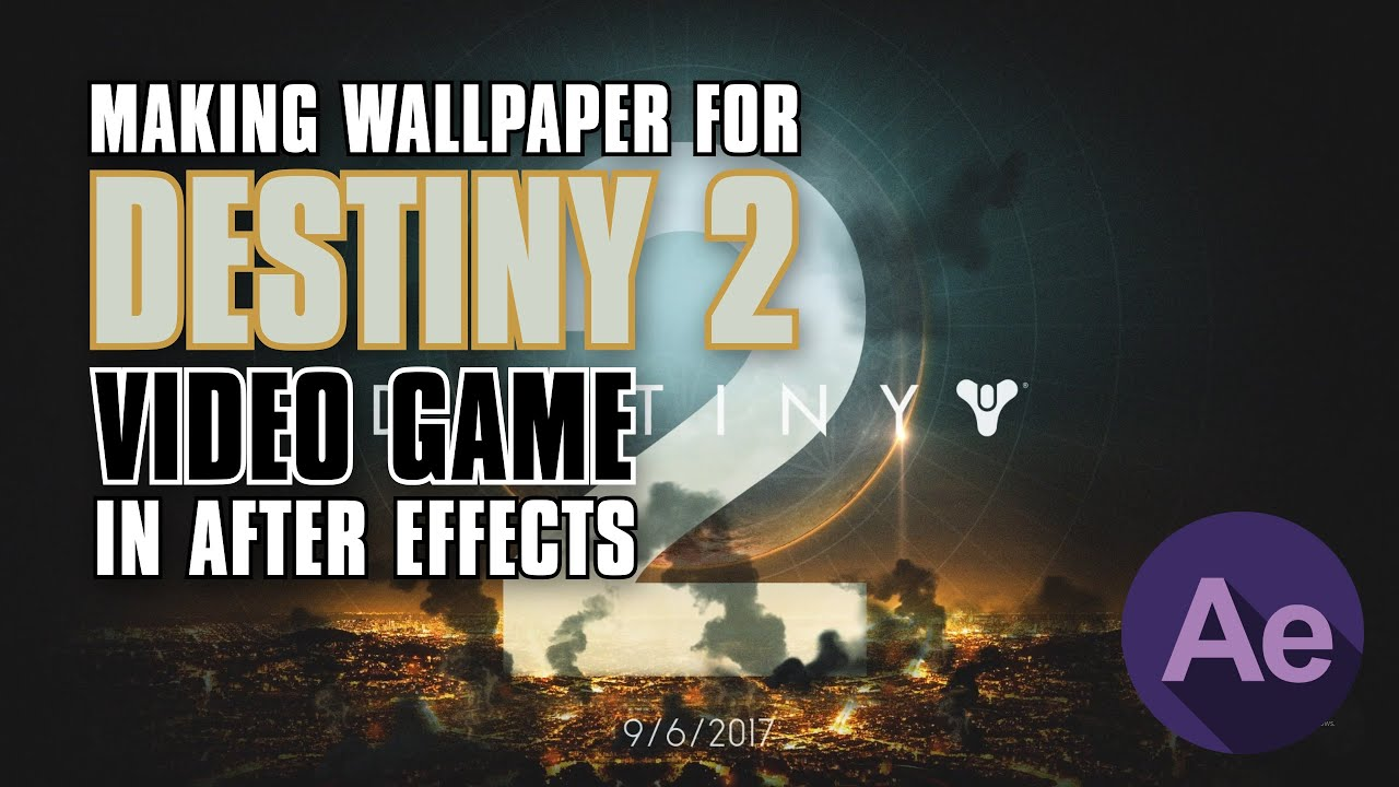 Destiny 2 - Making of wallpaper, 1080p - YouTube