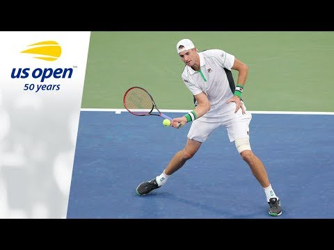 John Isner Gears Up For R3 Match Today At 2018 US Open