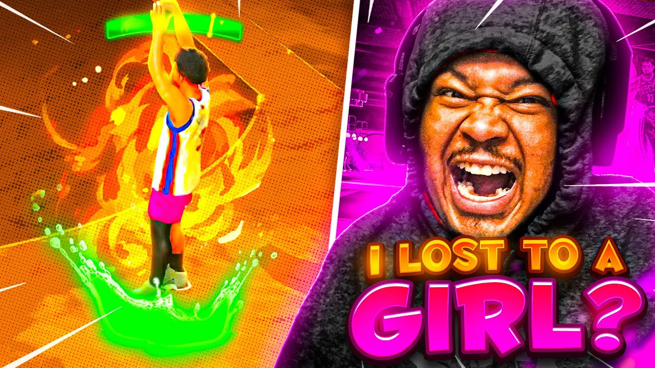 Toxic old head ends stream after losing to a girl gamer..🤣 streaming sniping undercover! Nba 2k21