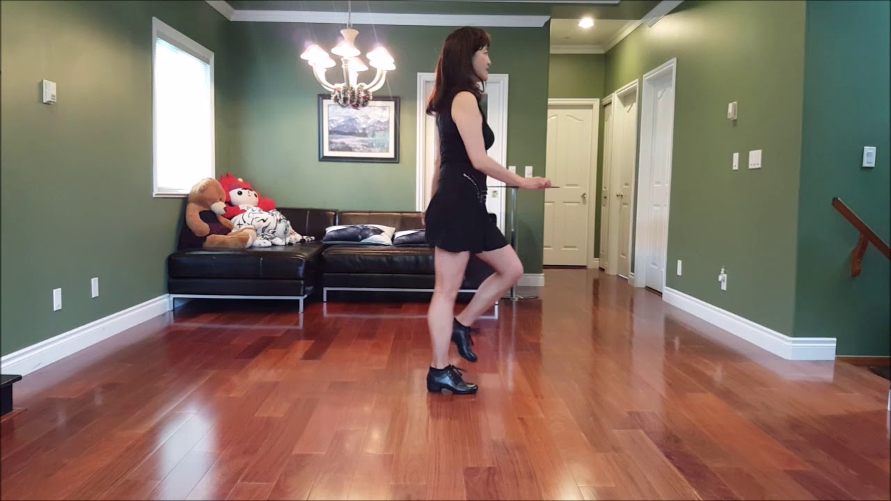 Bright Side Of Life Line Dance Demo - YouTube