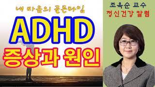 [KCBS 내 마음의 골든타임] ADHD 증상과 원인 …