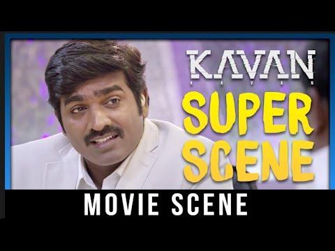 Kavan - Super Scene | Vijay Sethupathi | T. Rajendar | Madonna Sebastian