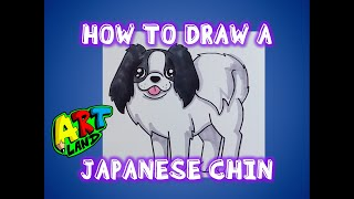 How to Draw a JAPANESE CHIN
