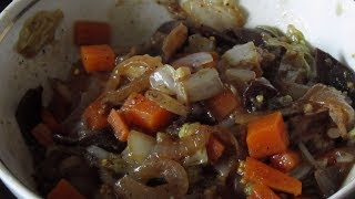 Китайская кухня: Салат из пекинской капусты с древесными грибами