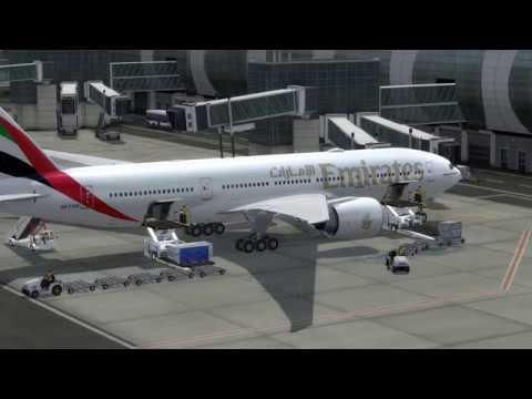 Flight from Dubai  to Kuwait City (Emirates)