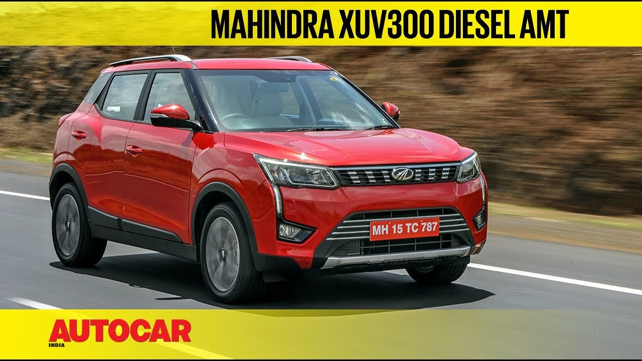 Mahindra XUV300 AMT review - Autocar India