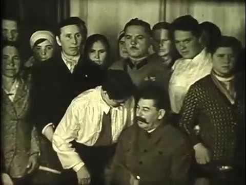 Сталин. Редкая хроника.