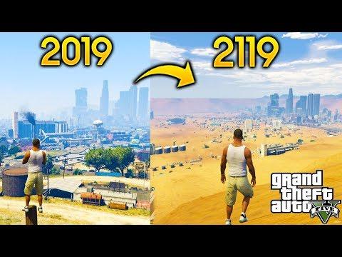 ¿Que Pasa Si Viajamos 100 Años al Futuro en GTA 5? thumbnail
