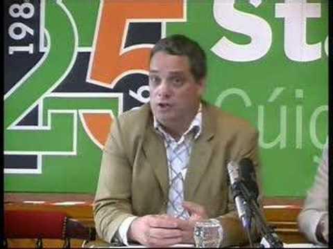 Slógadh 2006 - Aengus Ó Snodaigh - 1/2