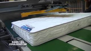 Fabrication des matelas - Etape 5 - Emballage des matelas