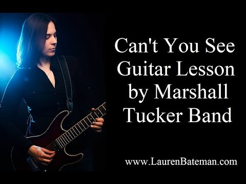Marshall Tucker Band - Can't You See Easy Guitar Song Lesson