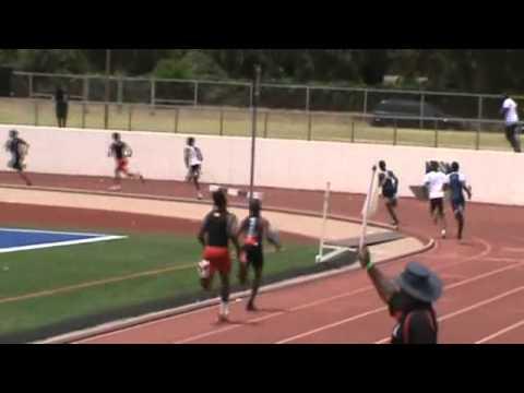 2011 USATF Region 12 Championships - 4X400m Relay - Youth Boys - Finals.wmv